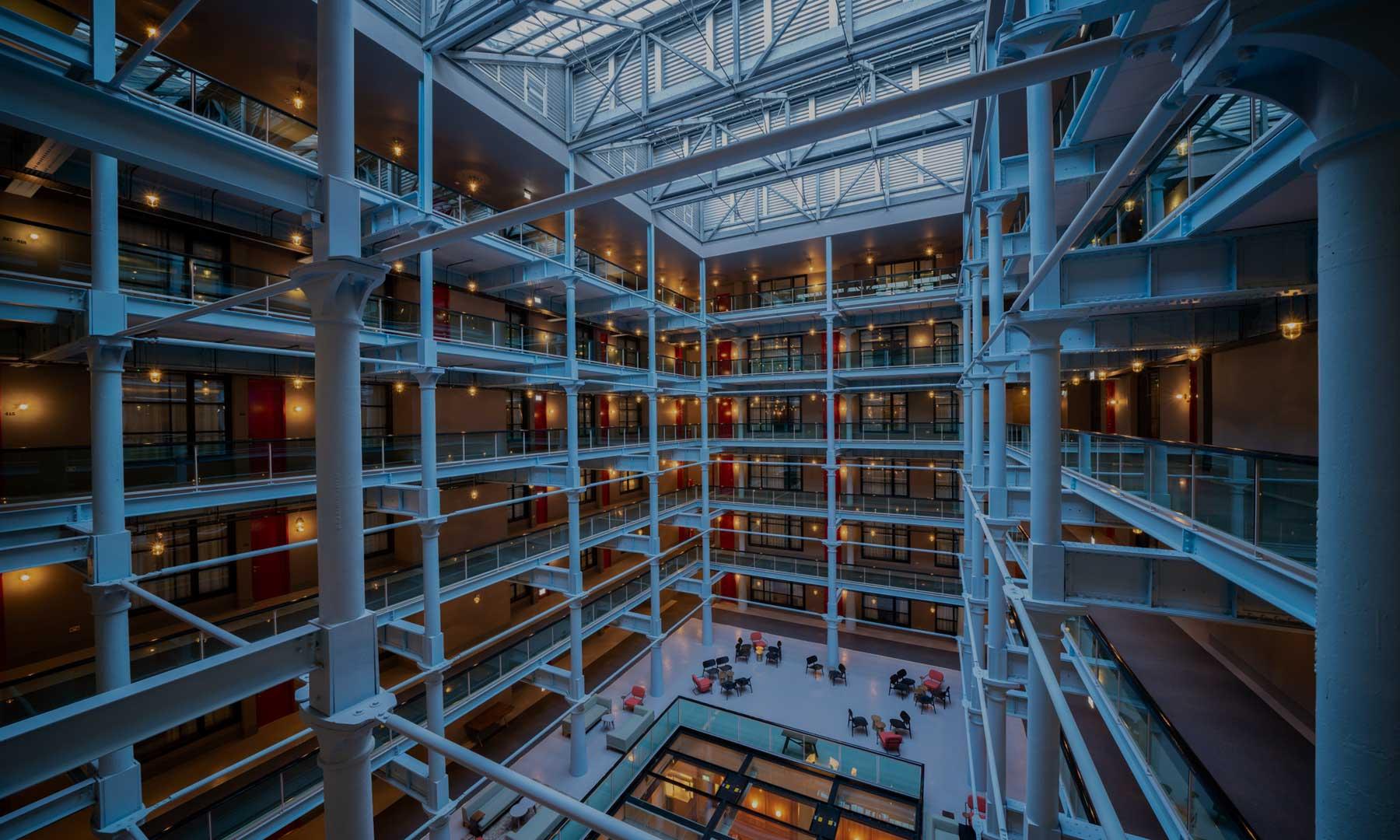 Native Manchester Aparthotel Atrium